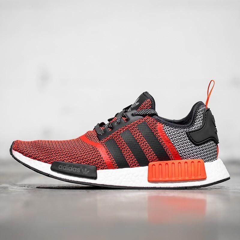 ยี่ห้อนี้ดีไหม  ระยอง ส่งเร็ว Adidas NMD R1 Runner Boost รองเท้าวิ่งรองเท้าผ้าใบ S79158