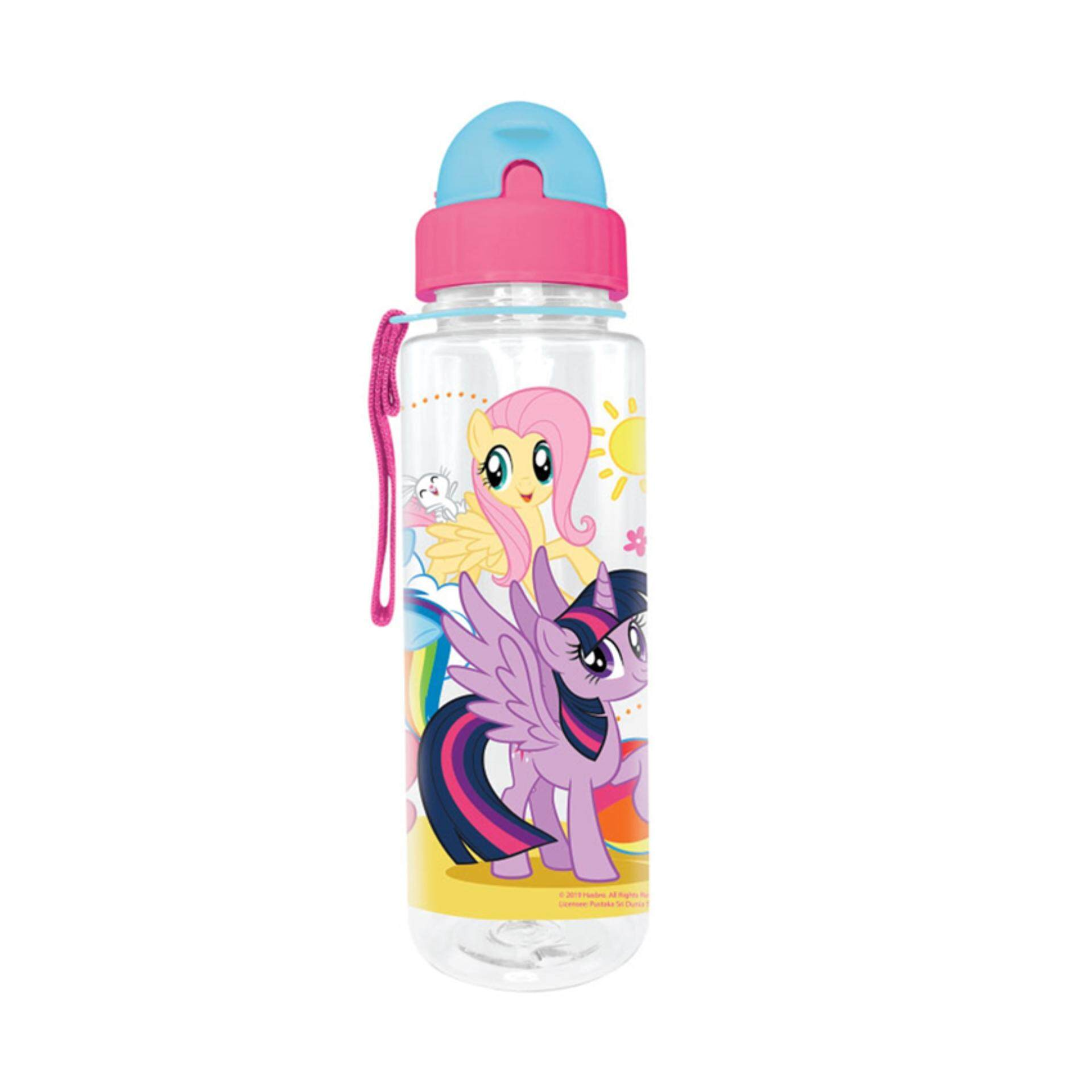 My Little Pony 650ML BPA Free Tritan Bottle With Straw - Multicolour