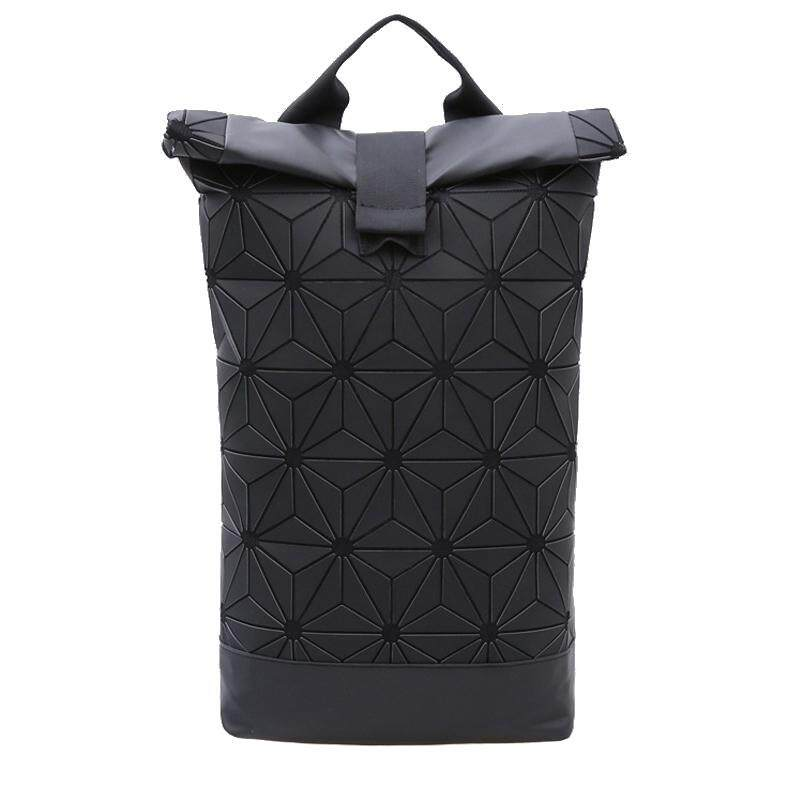 ALP Bao Unisex for Casual Outdoor Camping Hiking Fashion 2018 / 2019 3D Backpack Triangle Pattern Geometric Rhombic Shiny Petal Plated