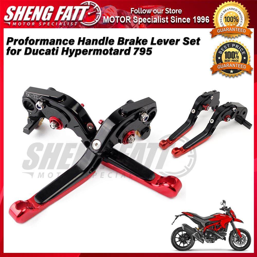 Proformance Adjustable Folding Extendable Brake Clutch Levers for Ducati Hypermotard 795