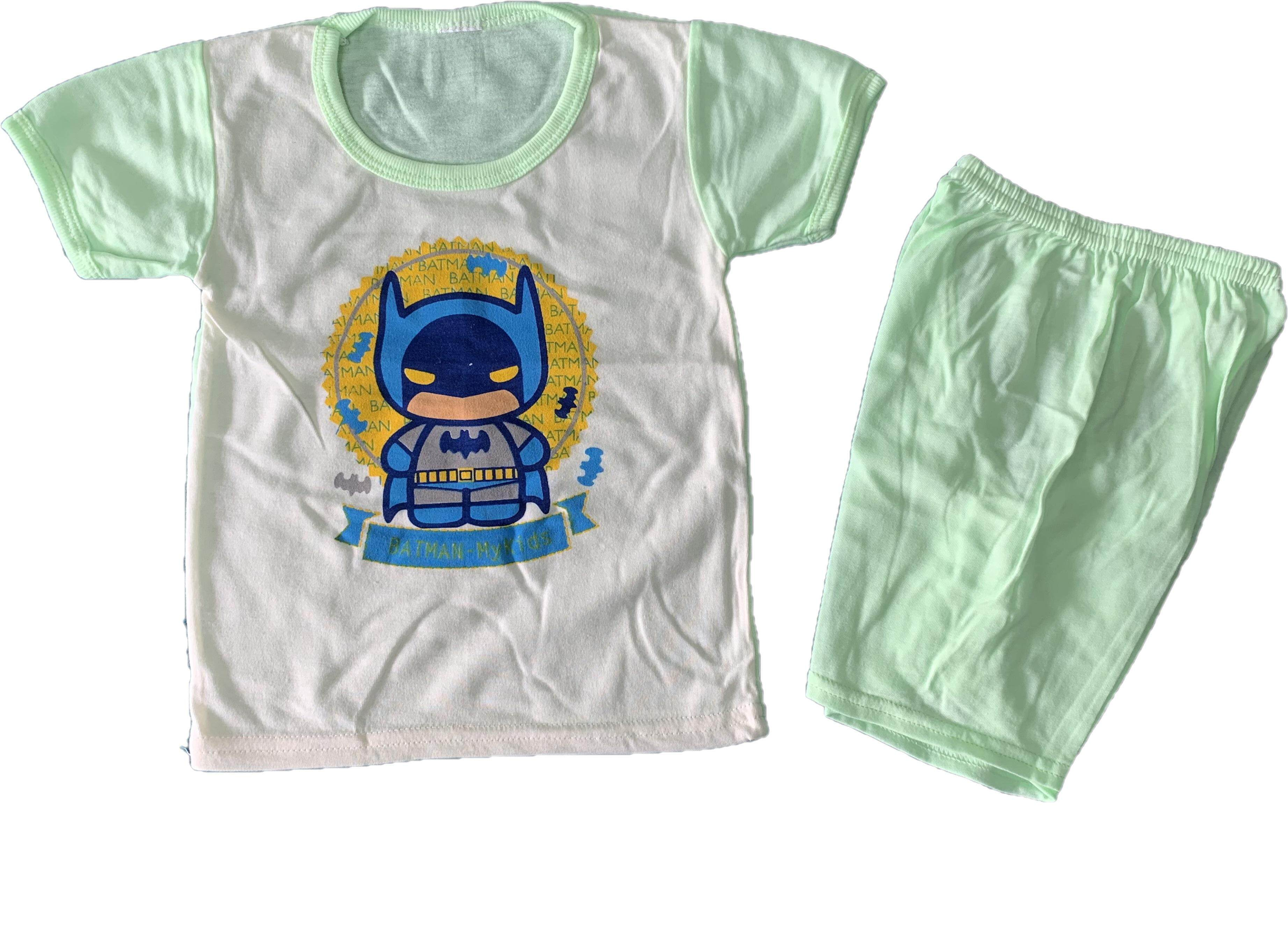 1 Pasang Batman Casuel Wear For Newborn (Fit to Age: 6-18Mth Mass:8-12kg Height:69-80CM)