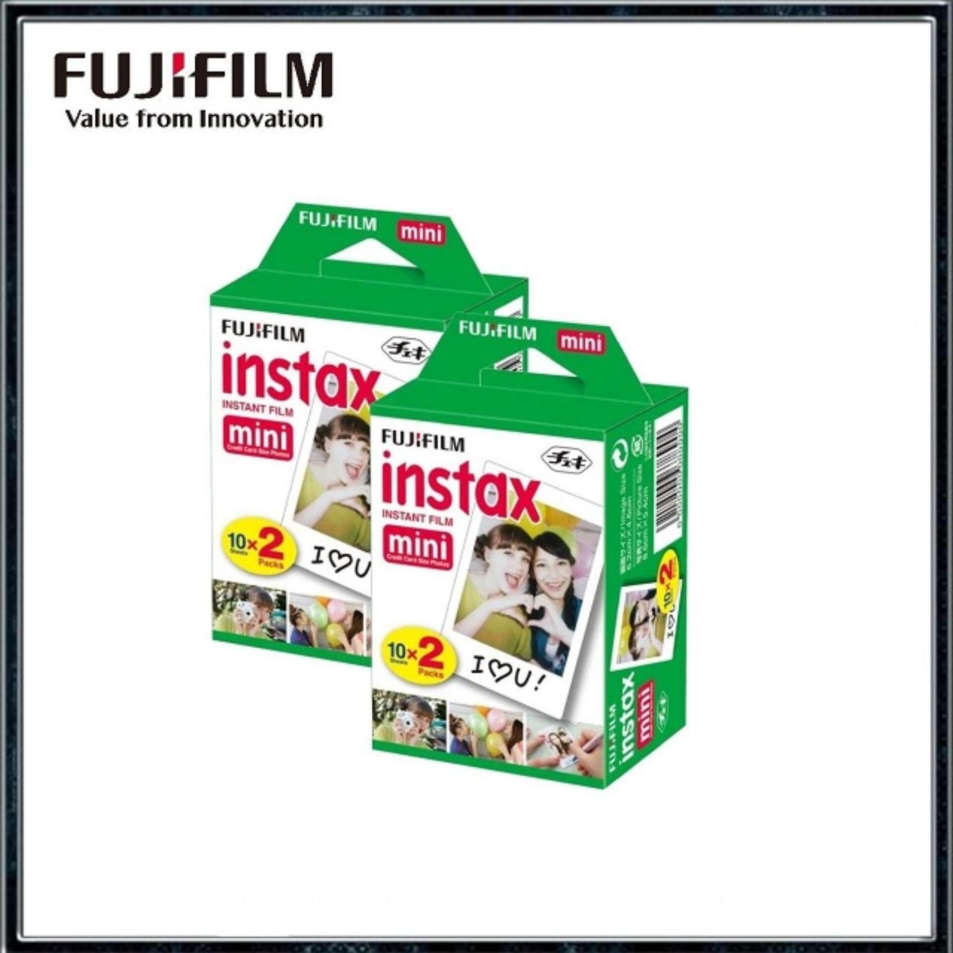 Fujifilm Instax Mini Instant Film Twin Pack (40sheets)