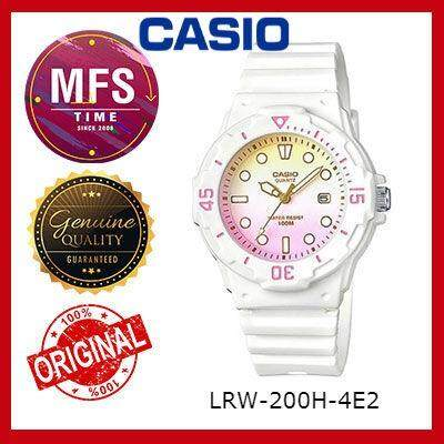 (2 YEARS WARRANTY) CASIO ORIGINAL LRW-200H SERIES STUDENT & KID'S WATCH