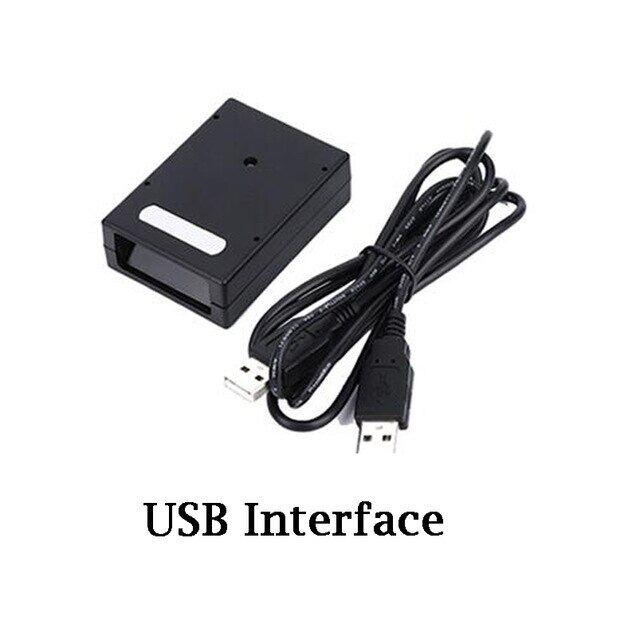 Máy Quét Mã Vạch Cố Định, Cảm Biến Laser 1D Mô Đun Đầu Đọc Mã Vạch Cố Định Quét Liên Tục Diode USB/TTL/RS232