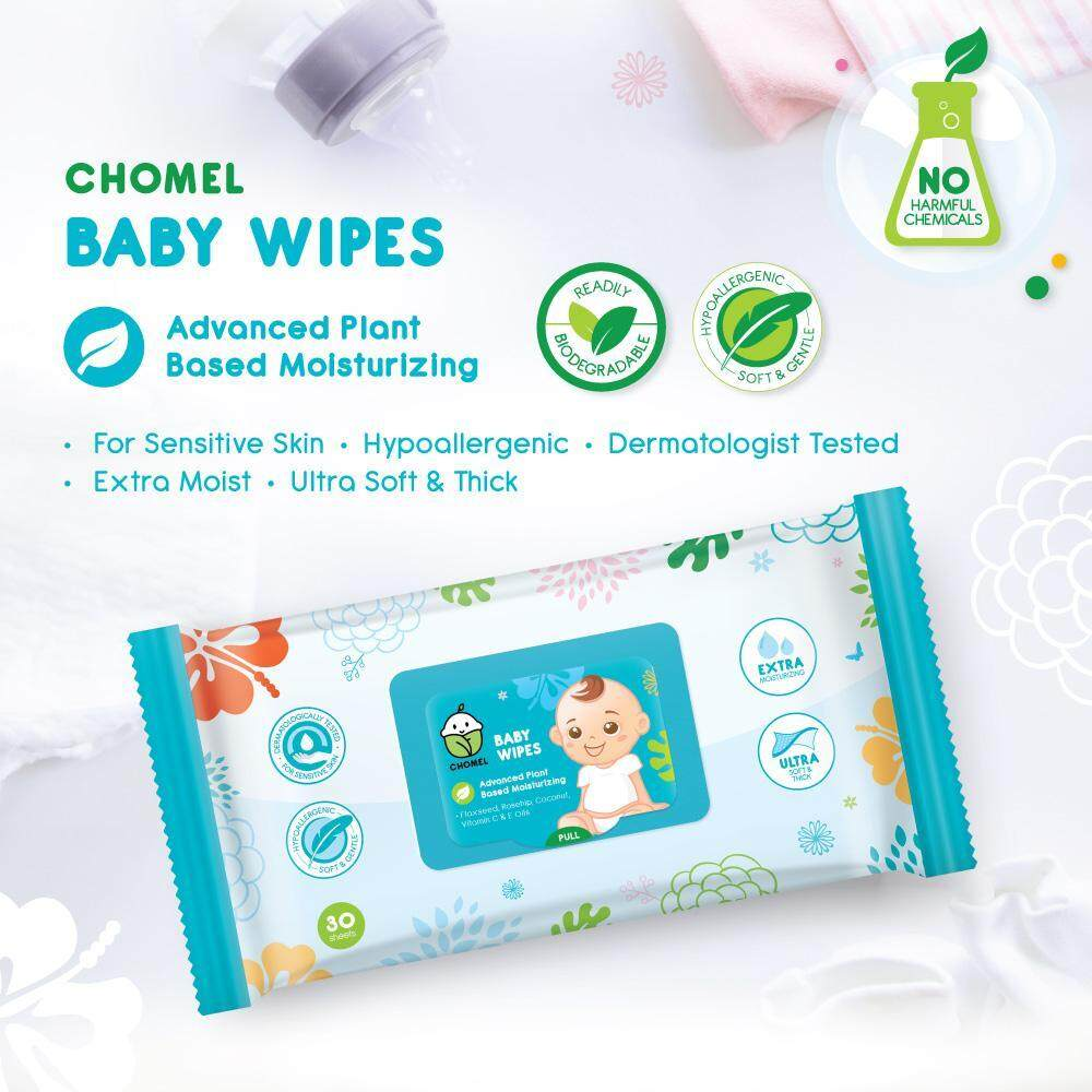 CHOMEL Baby Wipes - 30 Sheets