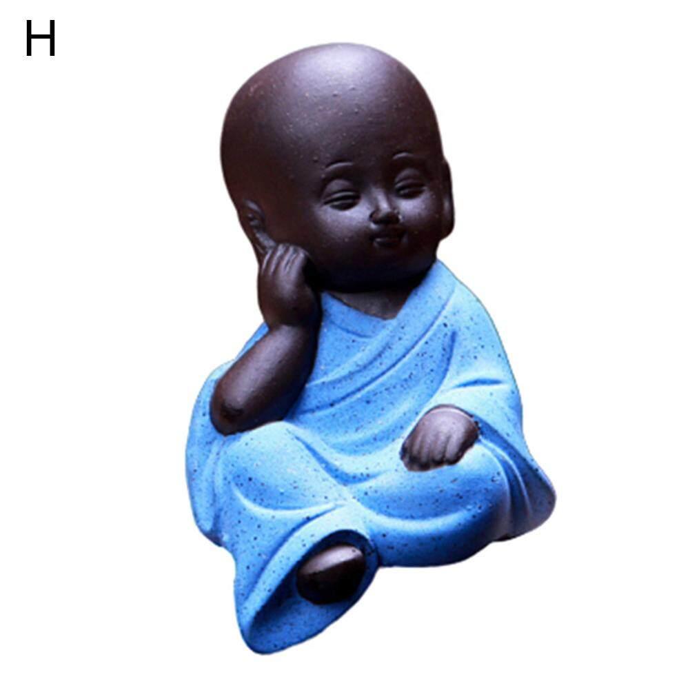 Hình ảnh Tượng Phật Nhỏ Venicenight Bằng Gốm, Tượng Điêu Khắc Thủ Công, Trang Trí Máy Tính Để Bàn