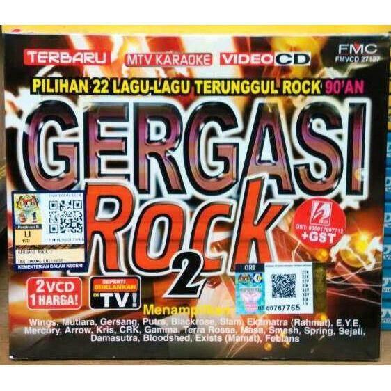 Gergasi Rock 2 MTV 2VCD Karaoke Spring Smash Masa Sejati Damasutra  Bloodshed Exists Febians 9eb4694362