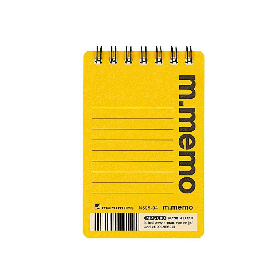 Maruman Notebook A7, 14 Lines/ 50Sheets,6mm Ruled (N 595M-A7)