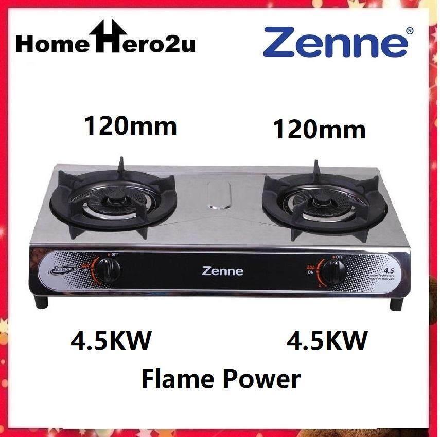 Zenne KGT401B 2 Burner Gas Cooker - Homehero2u