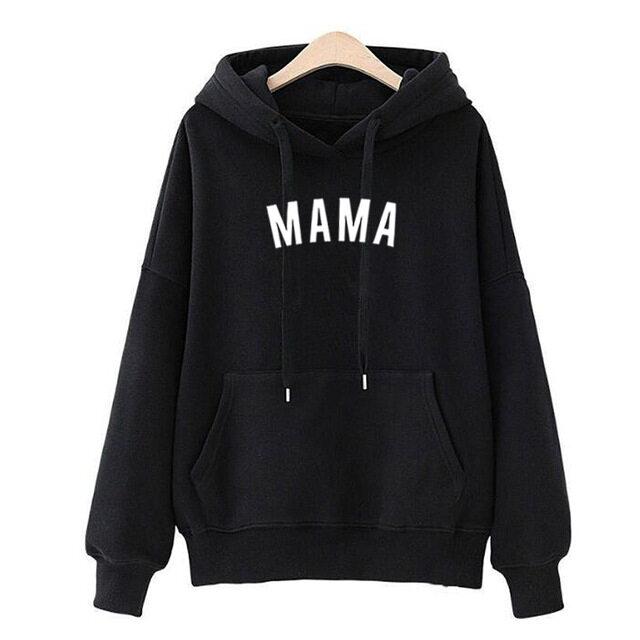 Mama เสื้อกันหนาวหมวกสตรี...