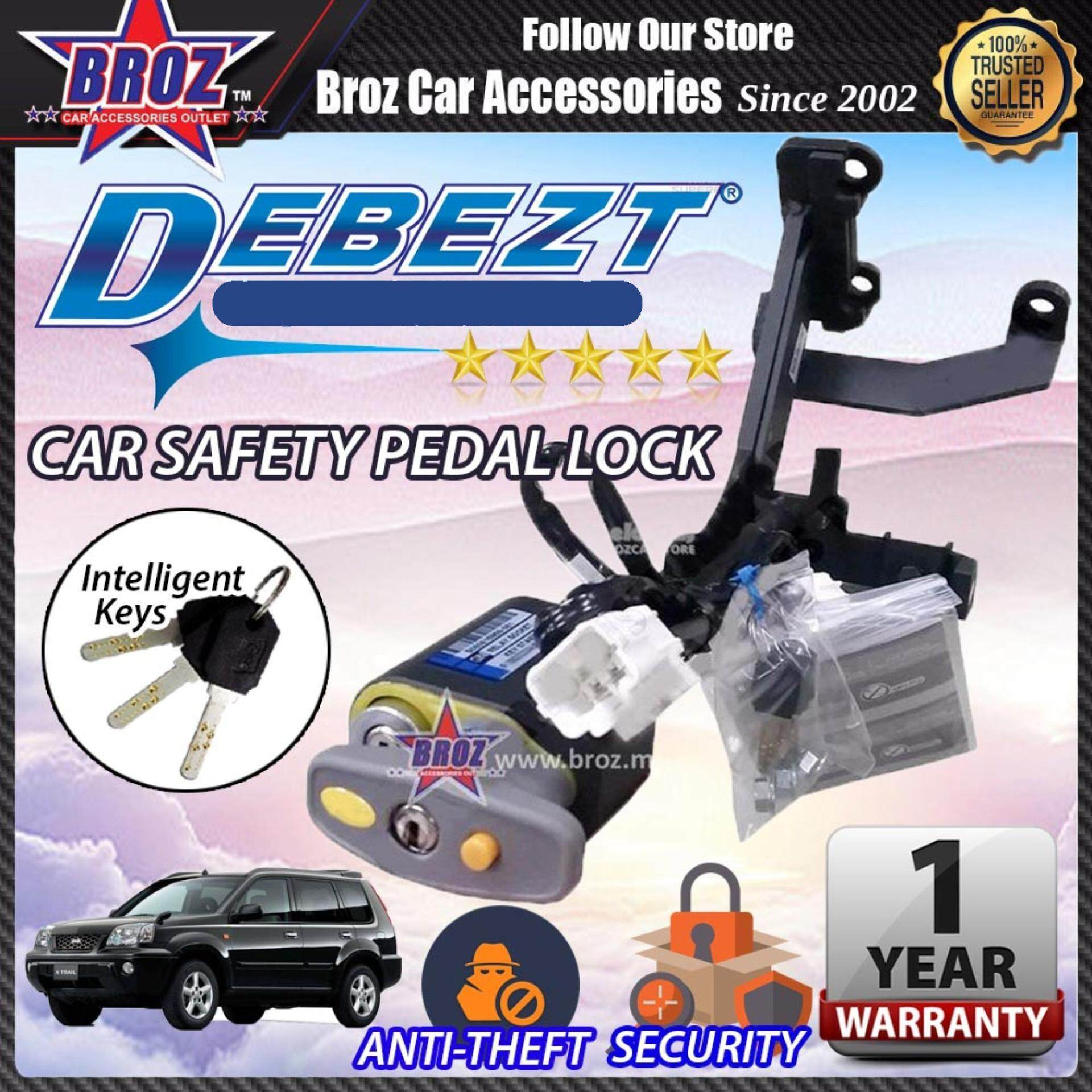 X-trail 2003-2009 Debezt Auto Key Start Anti Theft Double Pedal Lock