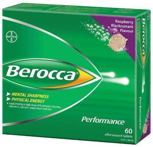 Berocca Performance 60 tablets (Raspberry & Blackcurrant) Berocca Vitamin C