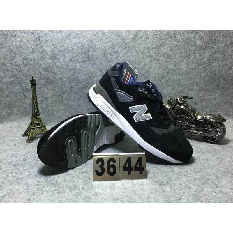 บึงกาฬ TH   New Balance USA การผลิต 998 ผู้ชายผู้หญิงกีฬารองเท้ารองเท้าผ้าใบใส่วิ่ง
