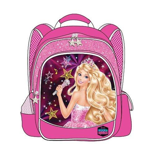 "Barbie Rock'n Royals Backpack 14"" - Pink Colour"