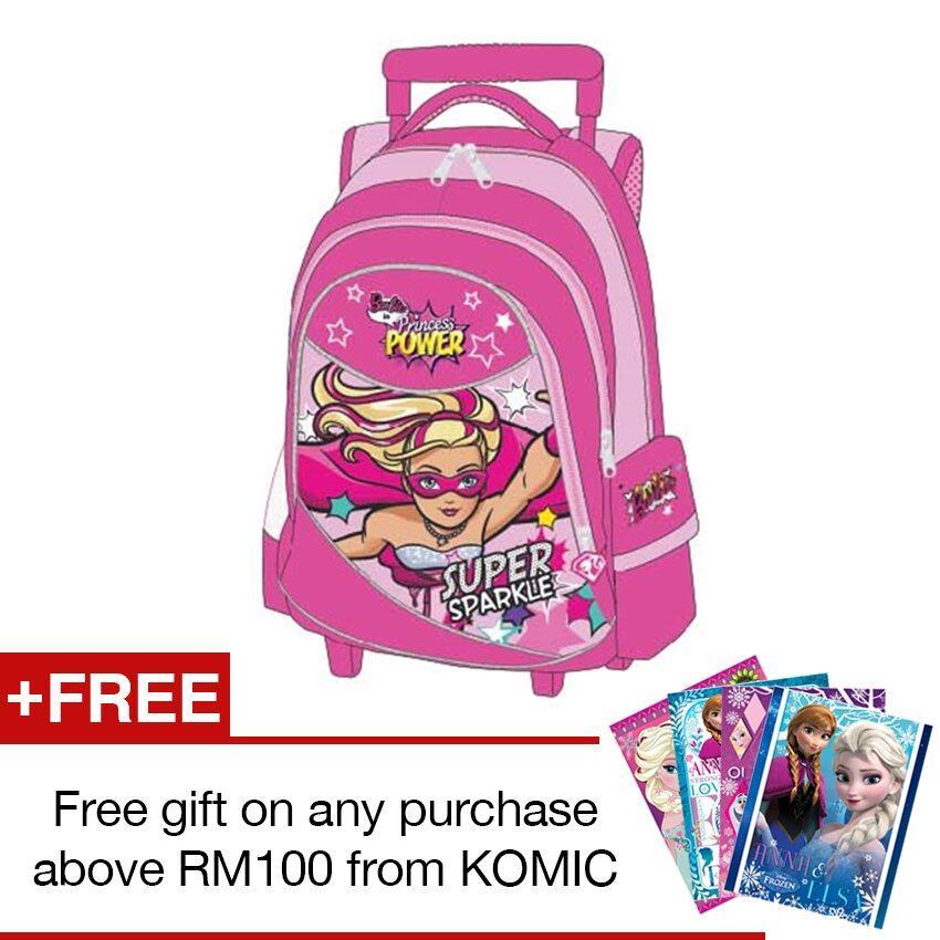 """Barbie Trolley Bag 16"""""""