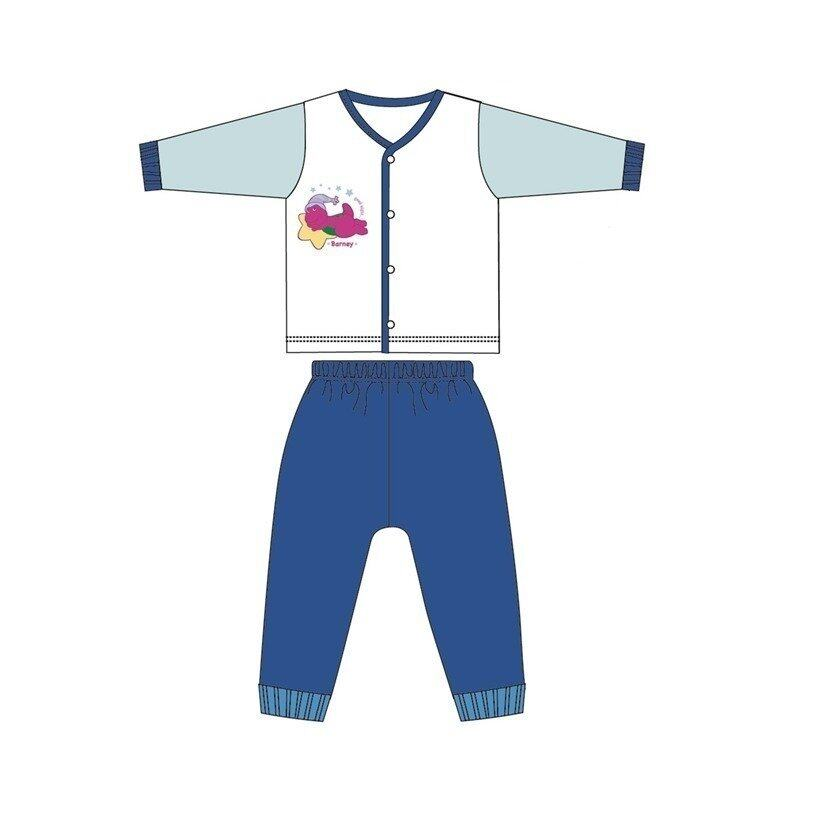Barney And Friends Casual Homewear 100% Cotton 0mth to 2yrs - Blue Colour