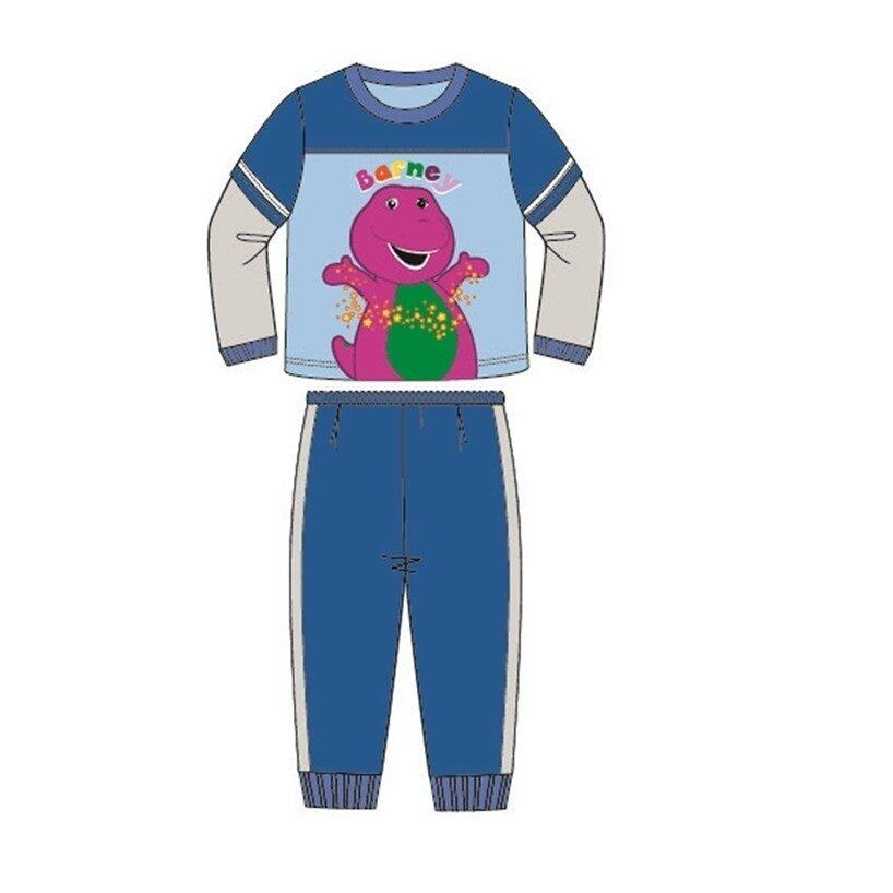 Barney And Friends Pajamas 100% Cotton 1yrs to 4yrs - Blue Colour