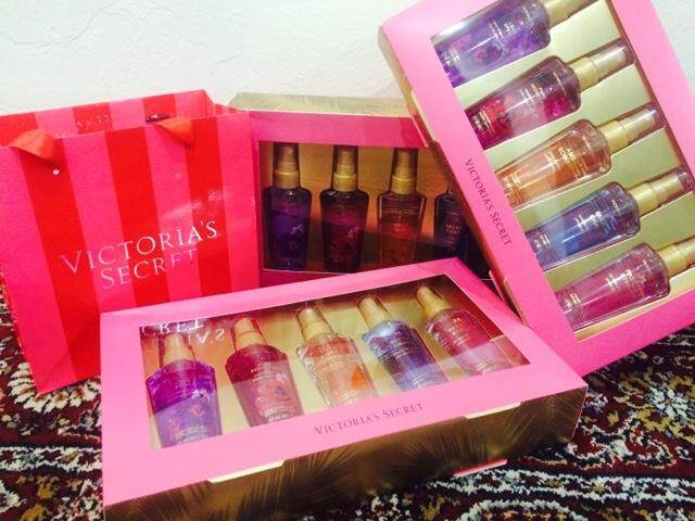 (Victoria Secret ) Gift Pack Perfume 5 Set