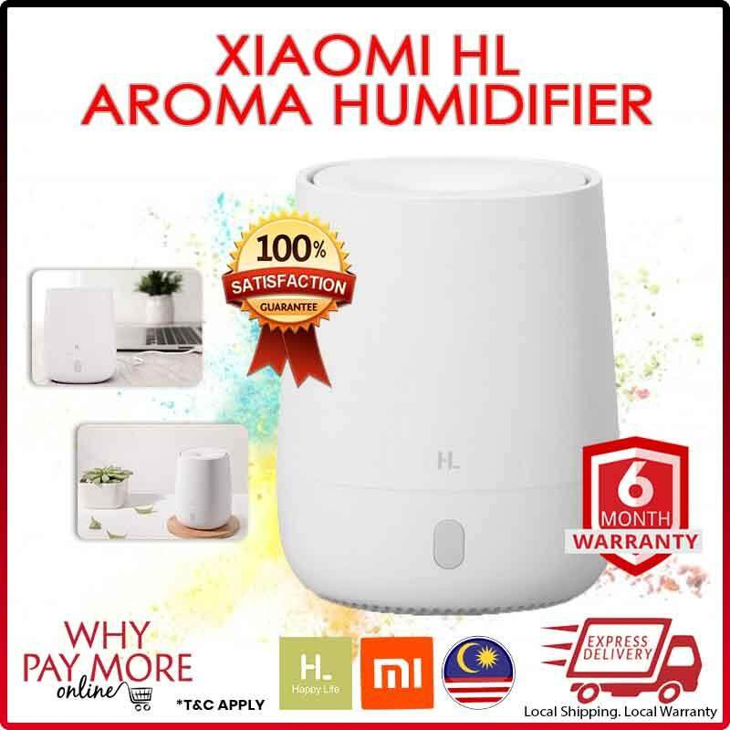 [Original] Xiaomi HL Mini Air Aromatherapy Diffuser Portable USB Humidifier Quiet Aroma Mist Maker with Nightlight for Car Home Office Yoga 120ml