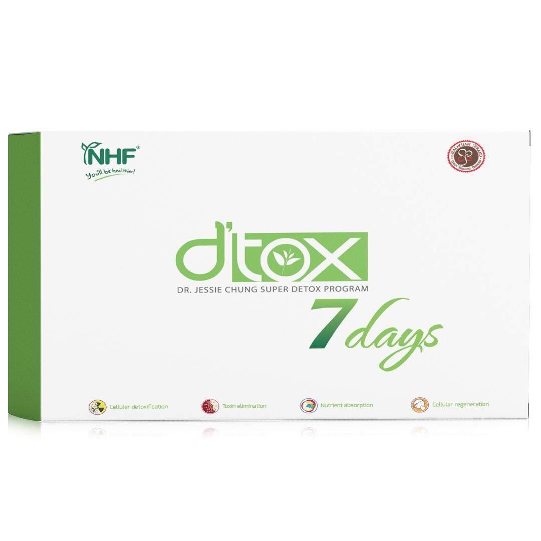 Dr. Jessie Chung Super 7 Days Detox Program 钟洁希博士超级 7 天解毒计划