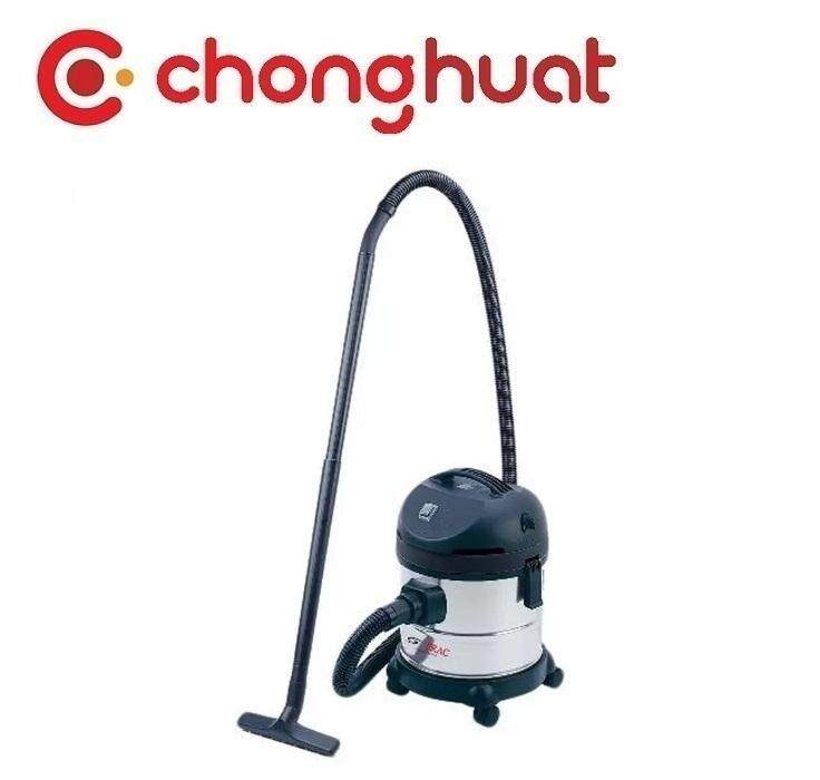 TRAC TR-166VC-1 Wet And Dry Stainless Steel Vacuum Cleaner