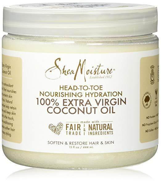 Shea Moisture 100% Extra Virgin Coconut Oil 15 oz