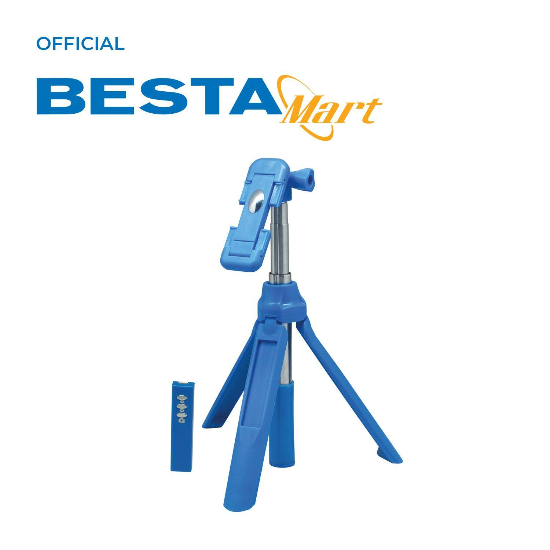 Besta Bluetooth Selfie Stick -U80-[Blue]
