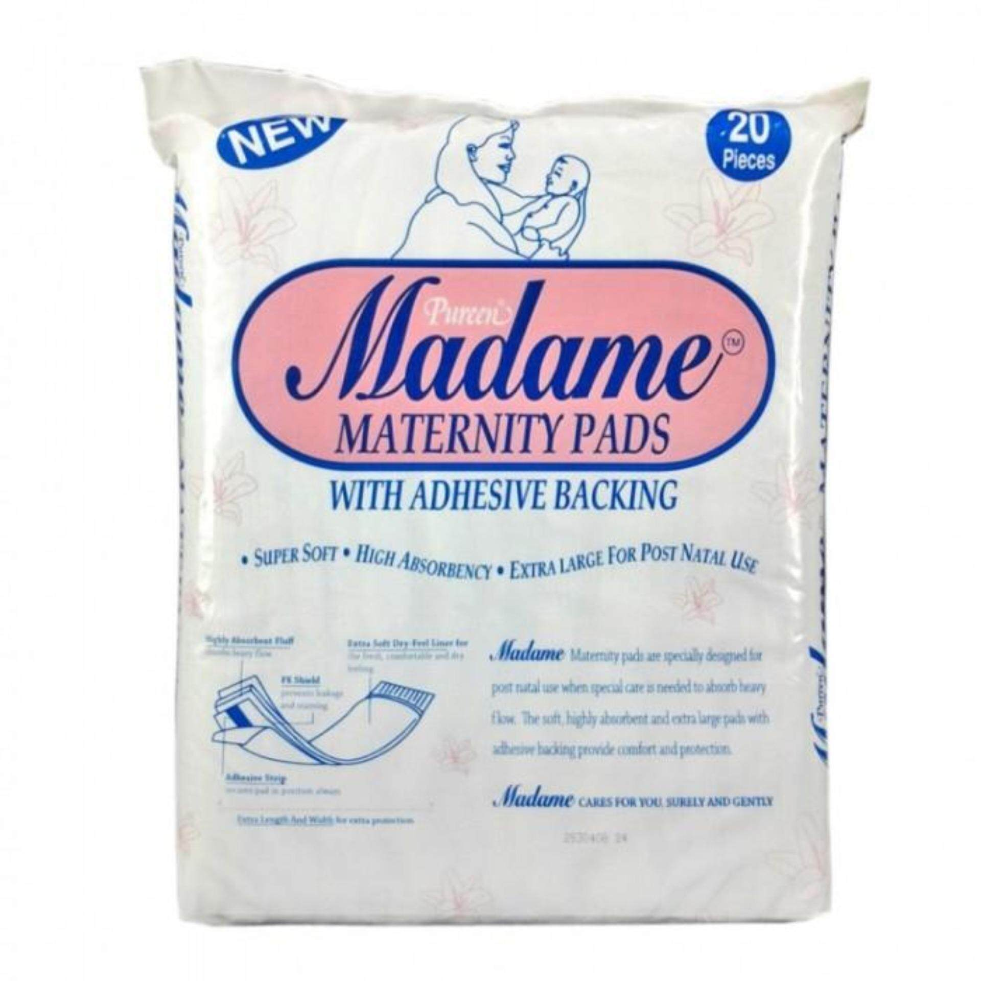 MADAME MATERNITY PADS 20'S Pad Bersalin for AFTER BIRTH)