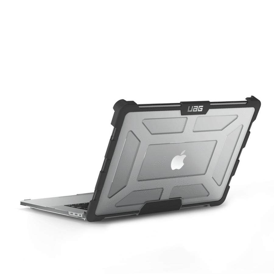"""Original UAG - Plasma Case for Macbook Pro 15"""" With Touch Bar (4TH Gen 2016-2018), Ice/Black"""