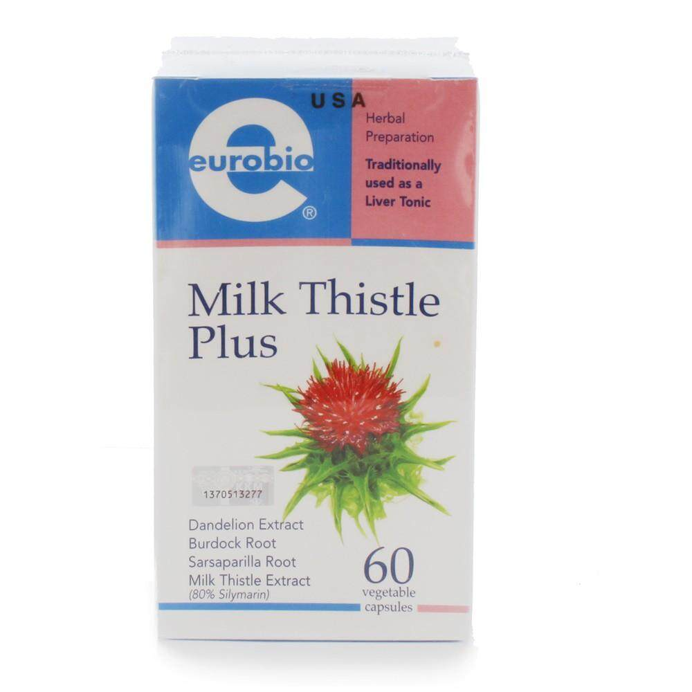 EUROBIO MILK THISTLE PLUS 60'S