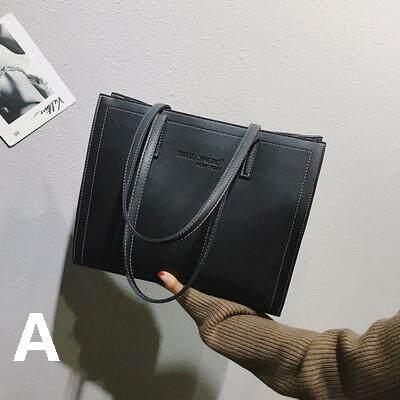 Women Fashion Large Capacity Leather Tote Bag