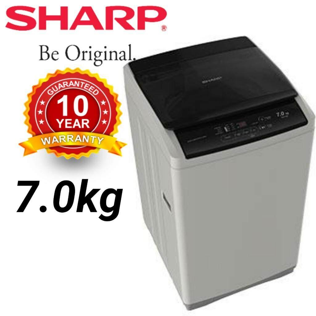 Sharp 7Kg Top Load Washing Machine SHP-ES718X