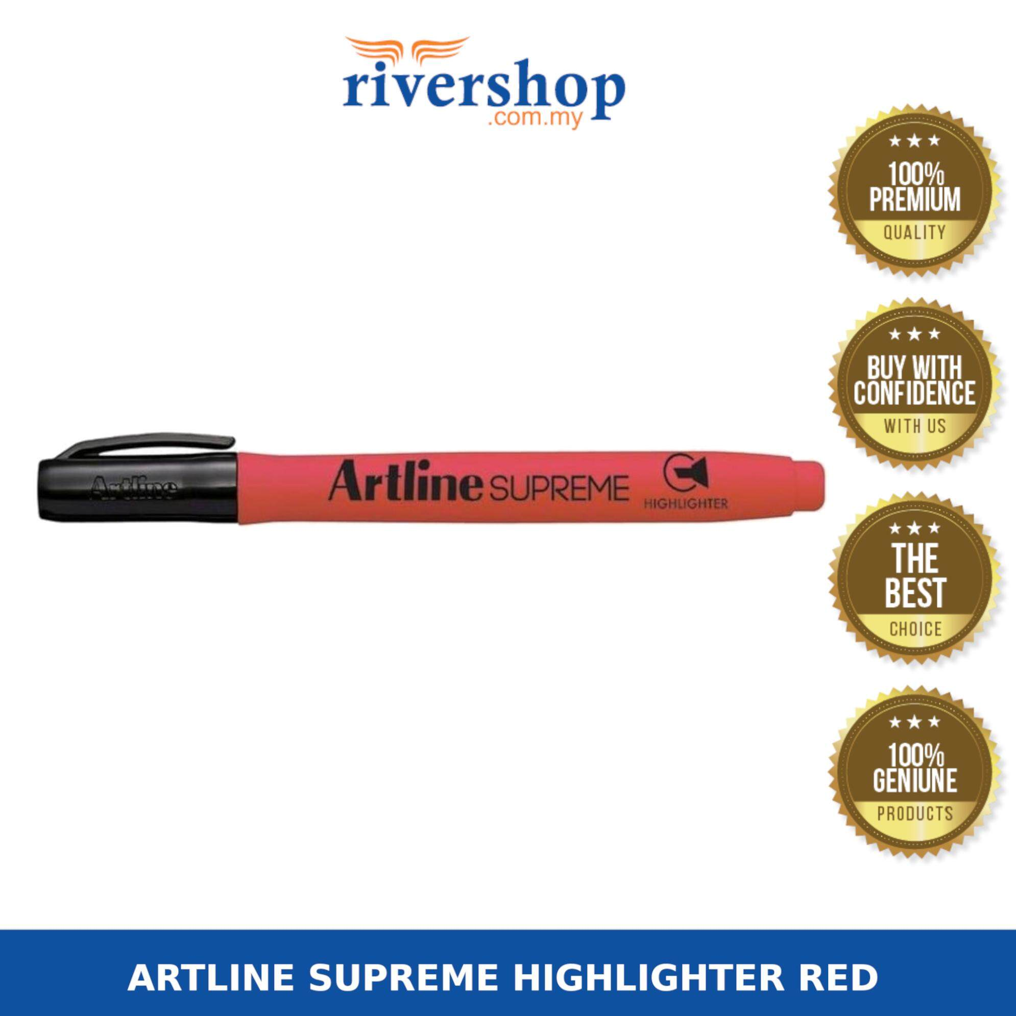 ARTLINE SUPREME HIGHLIGHTER RED (EPF-600)