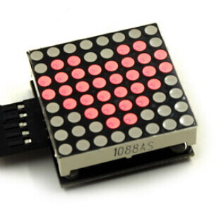 MAX7219 Dot Module 8x8 LED Display Board Geekcreit for Arduino - products that work with official Arduino boards