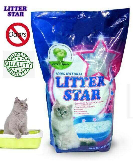 Litter Star Crystal Cat Litter 5L x 3 (Apple)