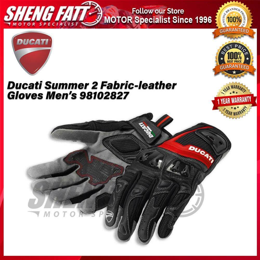 Ducati Summer 2 Men's Fabric-leather Gloves 98102827 - [ORIGINAL]