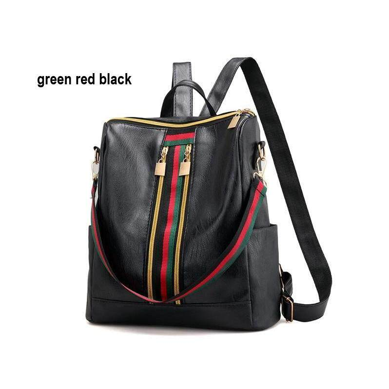 Affordable PU Leather Backpack Modern Style for Women
