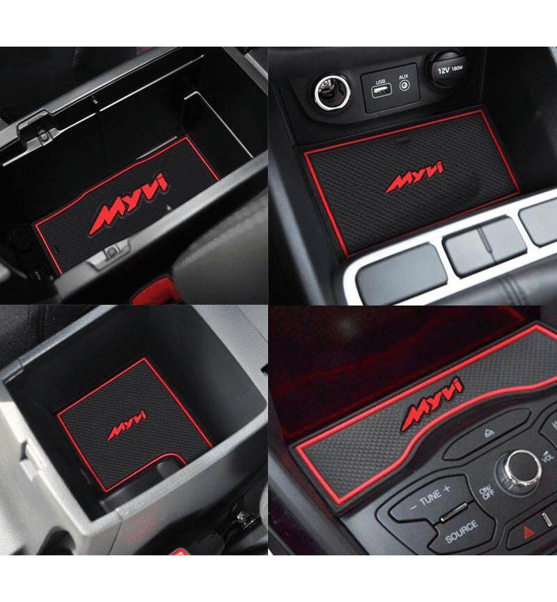 Perodua Myvi New Myvi 2017 2018 2019 Rubber Interior Slot Mat Anti Slip