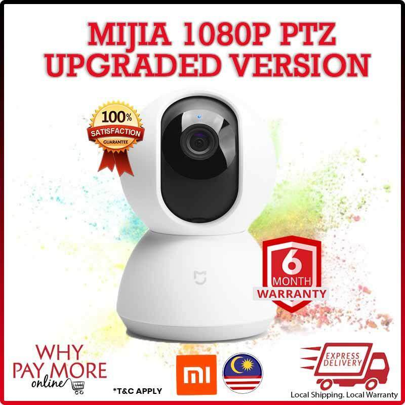[UPGRADED VERSION] Xiaomi Mijia 1080P HD Dome Smart Mi IP Camera PTZ version Infrared Night Vision [Import]
