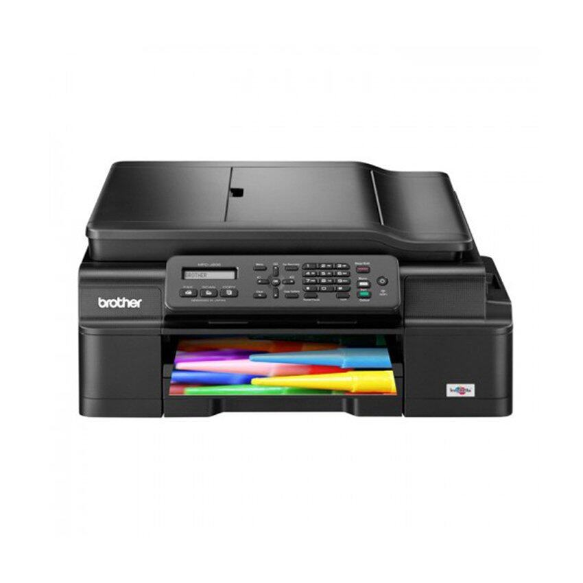Brother MFC-J200 InkBenefit A4 4 in1 InkJet Wireless Printer Black