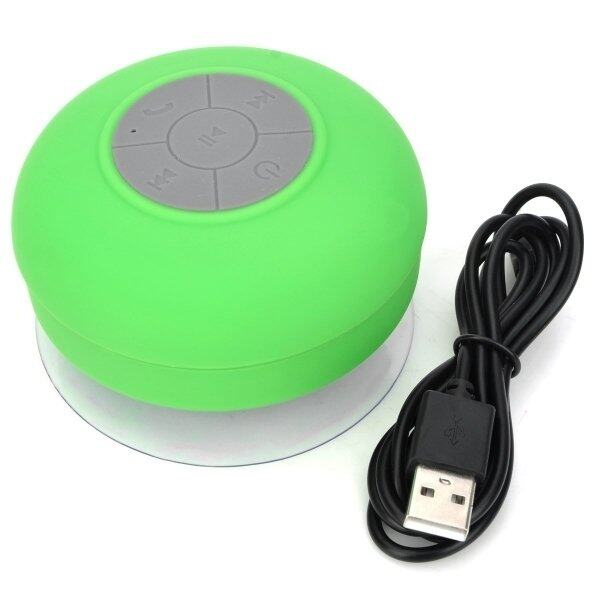 BTS-06 Mini Bluetooth Speaker With Suction Cup (White)