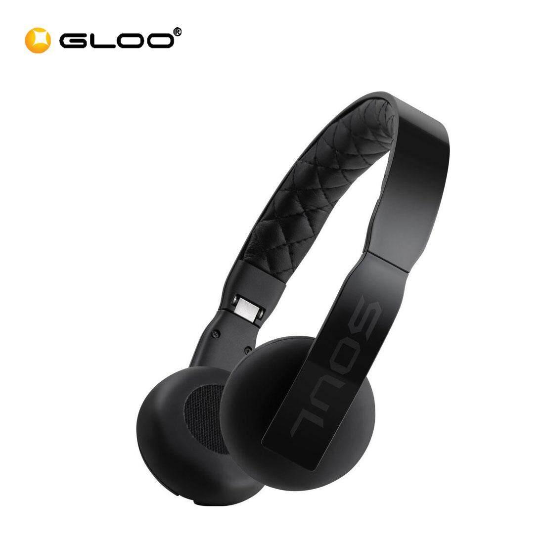 Soul Loop Ultra Lightweight On Ear Headphones (Pink/Black/Blue)