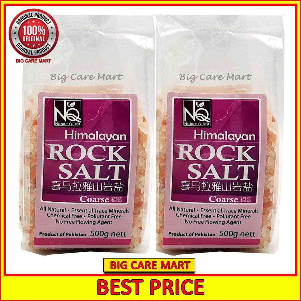 Nature Quest Himalayan Rock Salt Coarse 500g x 2 packs