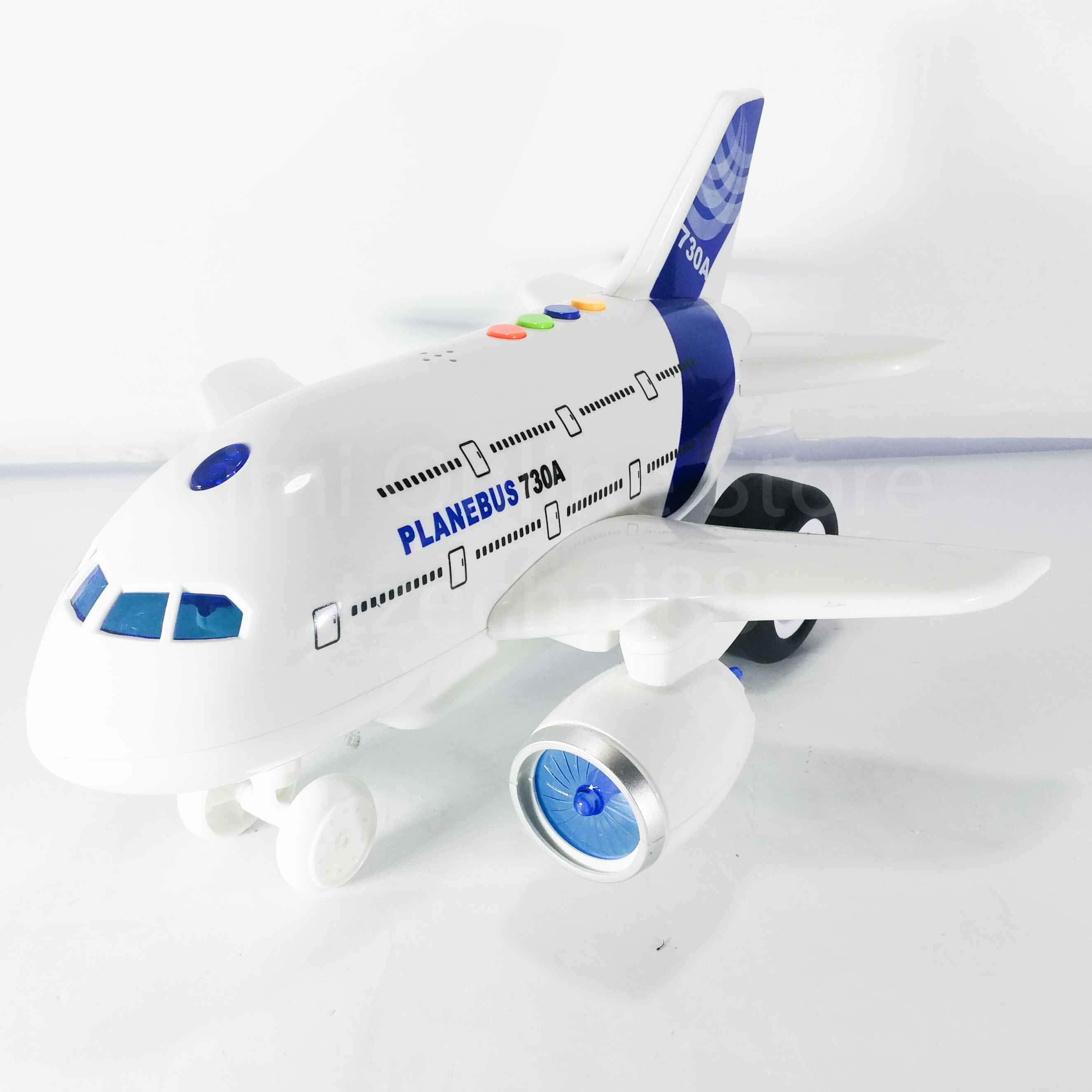 Airplane Educational Toy Sound & Light 1:120 Aviation Series WY730B Wen Yi