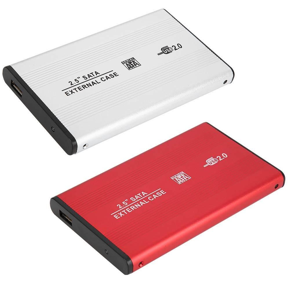 "Internal Hard Drives - USB2.0 Aluminum Alloy 2.5"" Serial Port SSD USB2.0 Hard Drive - [RED / SILVER]"