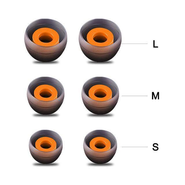 หูฟังในหู Tips Soft ซิลิโคนปลายหูหูฟังหมวกคลุมใบหูซิลิโคนที่เปลี่ยนฝาครอบหูฟังอุปกรณ์เสริมสำหรับ Xiaomi