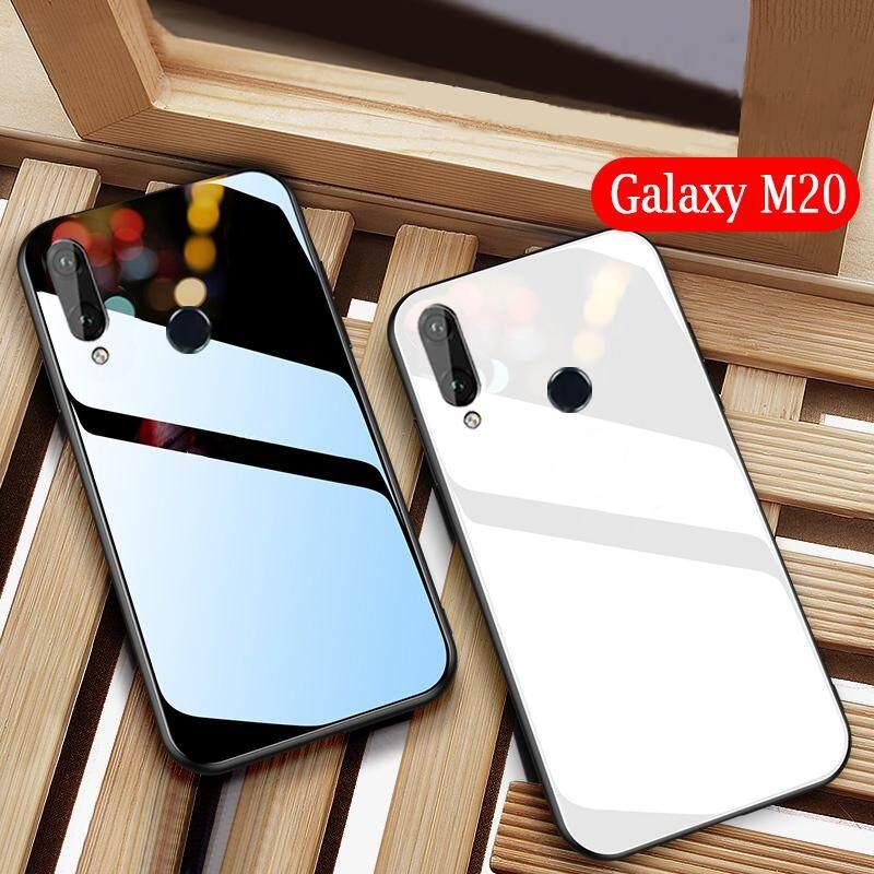 Galaxy M20 Ốp Lưng Gương Kính Cường Lực Bảo Vệ Vỏ dành cho Samsung Galaxy Samsung Galaxy M20 Trường Hợp Kính Cường Lực Bóng Vỏ Điện Thoại Nhà Ở (Cường Lực chất Liệu Thủy tinh)