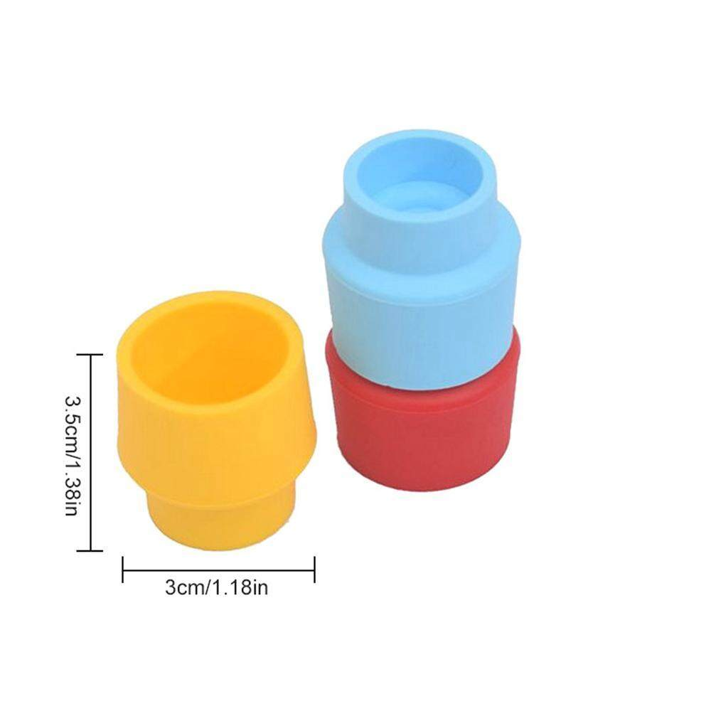 SeaLavender Bottle Caps, Set of 3 Reusable and Unbreakable Sealer Covers,  Silicone Stoppers to Keep Wine or Beer Fresh for Days with Air Tight Seal