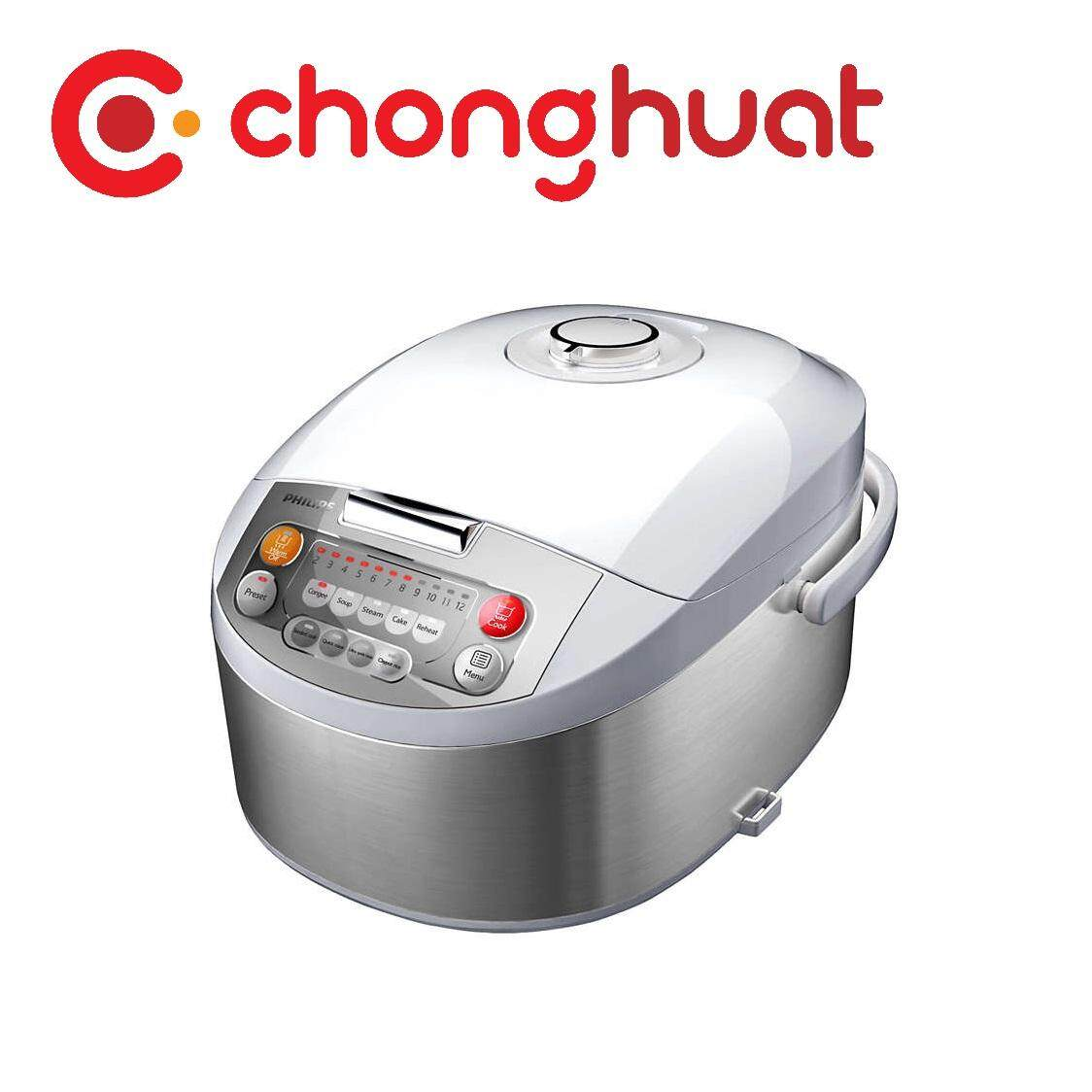 Philips HD3031 Viva Collection Fuzzy Logic Rice Cooker - 1L