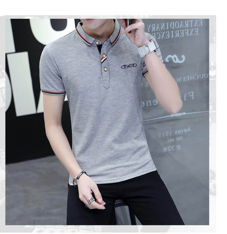 JYS Fashion Korean Style Men Polo Shirt Collection 303 - 933